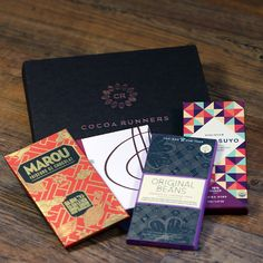 Valentines Craft Chocolate Collection: four delicious artisan chocolate bars for the serious chocolate lover!