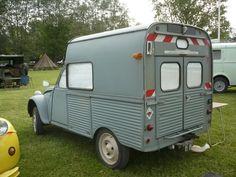 CITROËN 2CV camionnette carrossé par Sapa - vroom vroom