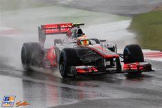 Hamilton only 8th - Wet saturday qualification - BRITISH GRAND PRIX 7th July 2012 #f1 #BritishGP #Silverstone #2012 #Formula1 #GrandPrix