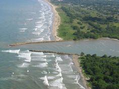 canales de paparo, Río Chico, Venezuela