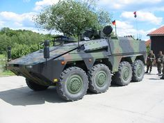 German Army basic Boxer APC configuration. Hochgeladen von Heldt photo via Wikimedia