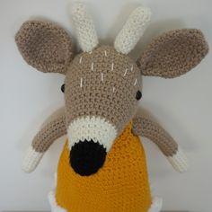 Elena la cierva.  *Patrón de Picapau. Tweety, Dinosaur Stuffed Animal, Toys, Animals, Fictional Characters, Art, Deer, Amigurumi, Activity Toys