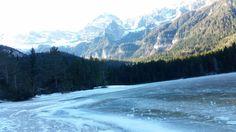 Lago Tovrl in inverno