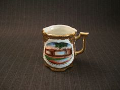 Cleveland Museum of Art Souvenir Cup, German Style [Vintage] by MaGriffeBoutique on Etsy