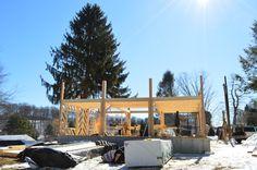 #geobarns Farm house progress shot.