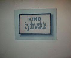 Ewa Bloom K., Kino żydowskie'2009, acrylic on canvas