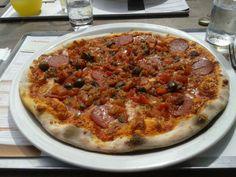 Pizza from Vapiano Saint Denis 974