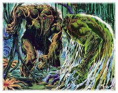 Man-Thing vs Swamp Thing