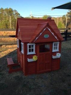 Our new Cedar Play House...the Toddlers in our Pre-Primary community Love it!!