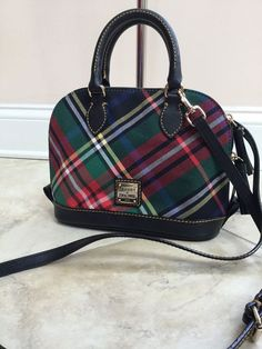 Dooney & Bourke Ruby Bag Mini Satchel with small cosmetic bag-new #DooneyBourke #MessengerCrossBody