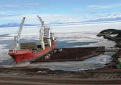 Time-Lapse: Operation Deep Freeze the Annual Resupply Mission to Antarcticas McMurdo Station