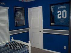 detroit lions bedroom decor - Google Search