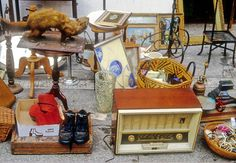 Paris is a great place for flea markets and brocantes – places to find vintage goods and antiques around the city. Here's a list of trinket and furniture shops, and neighbourhood markets
