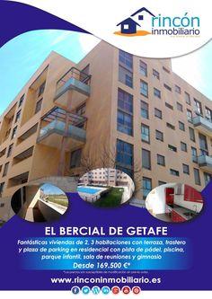 Promoción de viviendas en El Bercial de Getafe, Madrid, desde 169.500 €