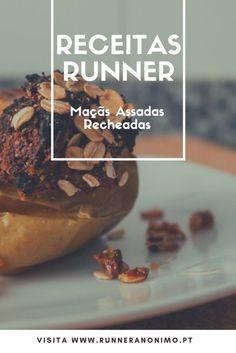 Receitas Runner – Maçãs Assadas Recheadas  #receitas #saudavel #yummi #runners