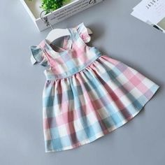 2a518b7fdd36 Baby Girl Dress Flower Strawberry Cotton Dress | Future babies ...