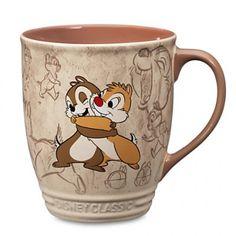 Chip 'N Dale hugging coffee mug