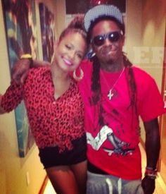 Lil Wayne's ex-wife and first baby mama Toya Wrigh...