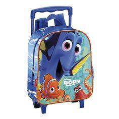 ¡Este trolley es tan cómo que podrás utilizarlo para ir a buscar a Nemo, a Dory o a tus amigos de la escuela!