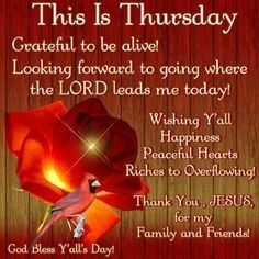 This Is Thursday good morning thursday thursday quotes good morning thursday thursday blessings thursday blessing images Happy Thursday Images, Thursday Greetings, Happy Thursday Quotes, Thankful Thursday, Thursday Pictures, Happy Monday, Thursday Morning Quotes, Morning Greetings Quotes, Good Morning Quotes