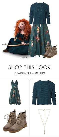 """Merida"" by hope13rose ❤ liked on Polyvore featuring Disney, Dorothy Perkins, Acne Studios and Rebecca Minkoff"