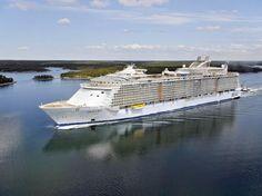 Oasis of the Seas fará mini temporada na Europa