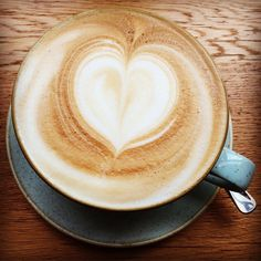 Starting the day with an awesome organic coffee!  #instagood #instacoffee #instadaily #awesome #organic #cappuccino #coffee #latteart #enjoying #life #heart #passion #photo #kaffee #herz #foto