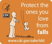 Fall-Proofing your home: **June is National Safety Month** Protect the ones you love from falls. www.cdc.gov/safechild