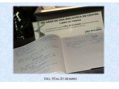 """Del 15 al 31 de mayo Estos dias, el libro... lo haces tú ¡Ven a vernos!  """"25 años de una biblioteca de centro (1989-2014). Escuela Politécnica Superior"""""""