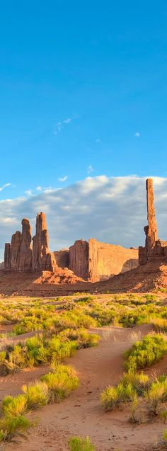 The Totem Pole at the Monument Valley #Arizona #Utah // Larry Miller Scottsdale