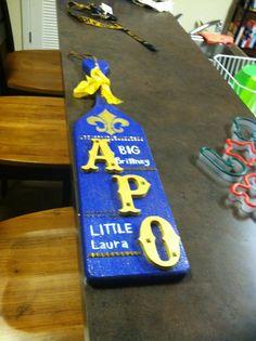APO Paddle Alpha Phi Omega, Paddles, Fraternity, Greek, Crafting, College, Big, Ideas, University