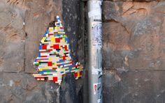 LE CONTAINER: LEGO STREET ART .. cliquez pour voir plus ....... Marush