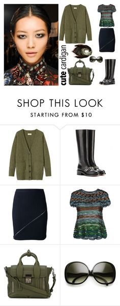 """""""Cute Cardigan"""" by sanskrit7 ❤ liked on Polyvore featuring Toast, Givenchy, Alexander Wang, Missoni, 3.1 Phillip Lim and Salvatore Ferragamo"""