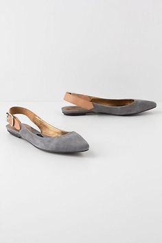 Slingback Skimmers #anthropologie