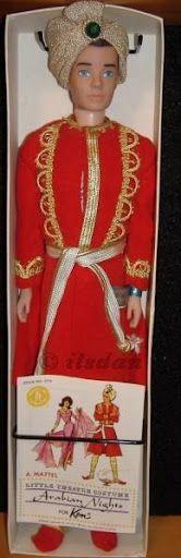 I always wanted this Arabian Nights Ken 1964 Ken by Mattel