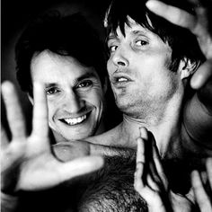 Hugh Dancy & Mads Mikkelsen (i almost put this in my OTP board)