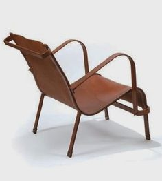 Chair by Jacques Adnet