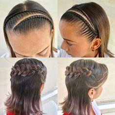 Ya en nuestro canal de YouTube  Colorin Tv  estas dos sencillas y bellas #trenzasfaciles el enlace lo puedes encontrar en la biografía  #trenza #trenzas #braid #braids #tranças #trança #tresses #treccia #hairstyle #hair #girl #girls #peinado #peinados #colorin #cucuta #peinadoscolorin Hair Hacks, Girl Hairstyles, My Hair, Braids, Dreadlocks, Make Up, Victoria, Hair Styles, Beauty