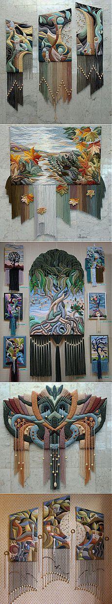 Yuri Nikolayevich Hovsepyan ...3D tapestries