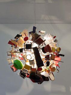 Paola Pivi: lampe Vitra miniatures - Je ai toujours aimé meubles de maison de poupée, maintenant je pourrait être obsédé au point de la thérapie