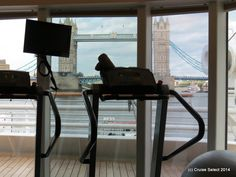 Seadream I -  GYM - At London Tower Bridge