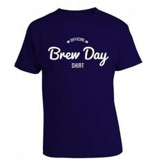 Official Brew Day Shirt by BrewerShirts. #brewershirts #brewing #craftbeer