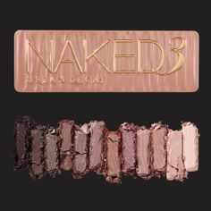 Urban Decay Naked 3 Eyeshadow Palette. 12 all new rose gold neutrals. Perfection! Just got mine yesterday!! Christmas came early for me :)