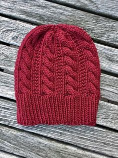 Gingerbread Hat By Angela Whisnant - Free Knitting Pattern - (ravelry) Bonnet Crochet, Crochet Beanie, Knit Or Crochet, Knitted Hats, Knit Beanie Pattern, Cardigan Pattern, Knit Cardigan, Loom Knitting, Knitting Patterns Free
