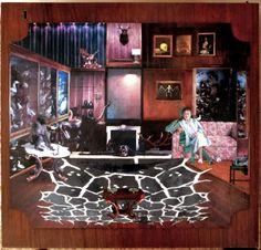"Series of immersive design schemes- Saatchi Art Artist Ossa Haddas; Collage, ""the hunter"" Saatchi Online, Realism Art, Vintage Market, Online Gallery, Painting On Wood, Wood Art, Saatchi Art, My Photos, My Arts"