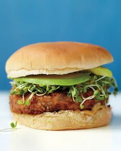 See the Veggie Burgers in our Vegetarian Sandwiches gallery