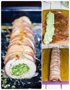 Soczysta i krucha rolada z indyka faszerowana brokułem i fetą, przykryta pod warstwą szynki parmeńskiej to moja propozycja na niedzielny lub świąteczny obiad. Wygląda i smakuje rewelacyjnie!