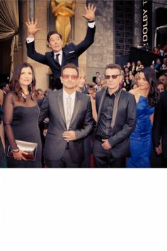 Oscars 2014: The Best Instagram Snaps U2 and Benedict Cumberbatch at the Oscars 2014