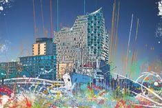 Splashing Hamburg:  http://www.bilderwerk-hamburg.de/category-panorama/hamburg-motive/hamburg-digital-art/
