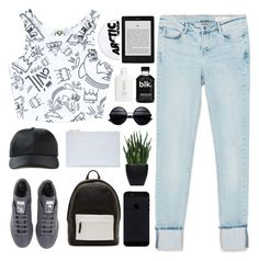 """""""graphic tees"""" by shootingfor-adventures ❤ liked on Polyvore featuring Civil, Zara, adidas, Alexander Wang, Whistles, PB 0110 and Lux-Art Silks"""